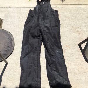 Black snow pants 12/14
